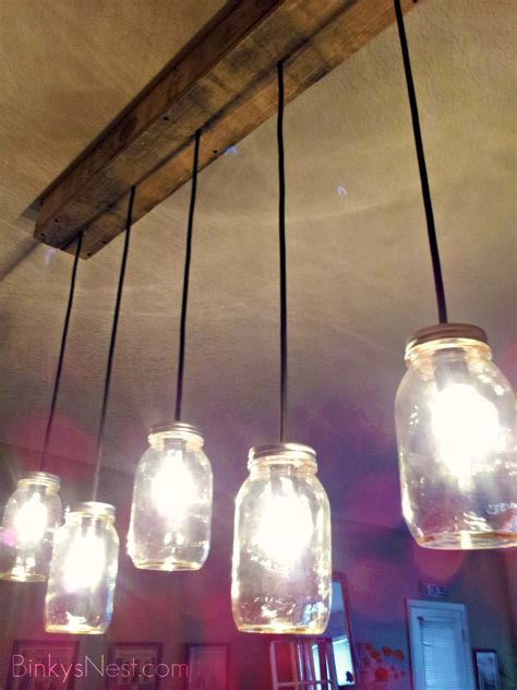 light jar diy twenty8divine jar rustic pallet light fixture diy