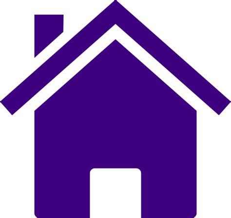 simple purple house clip art  clkercom vector clip