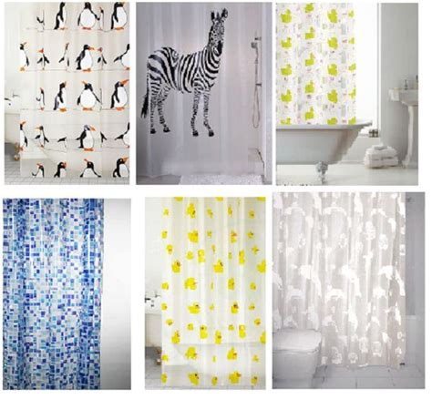 Standard Size Shower Curtain by Shower Curtains Curtain Design Peva Standard Size 180 X