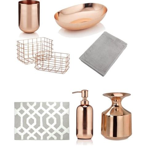 copper bathroom accessories 25 best ideas about gold bathroom accessories on