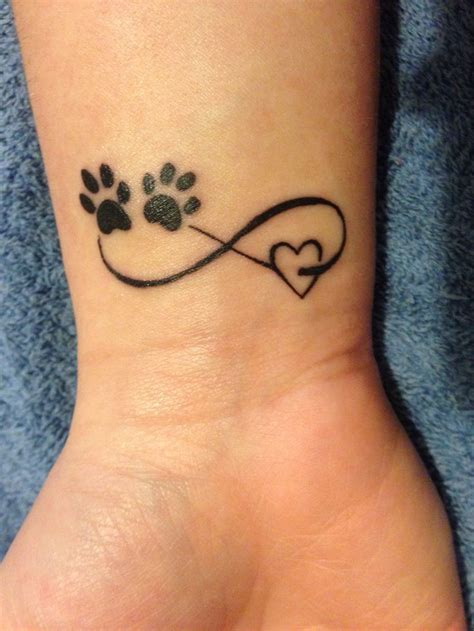 dog paw tattoo on wrist 37 and meaningful themed designs things