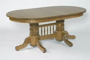 Oval Pedestal Dining Room Table Amish 72 Quot Pedestal Oval Dining Table With Center