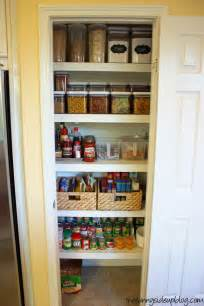organize small pantry on small pantry black