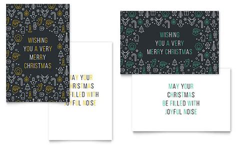 graphic design greeting card templates whimsical ornaments greeting card template design
