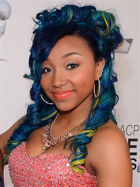 Zonnique Pullins Hairstyles by Hair Articles From Becomegorgeous