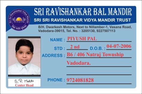 High School Student Id Card Template by School Identification Card Www Pixshark Images