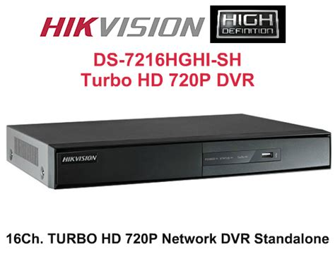 computers mall hikvision 16ch high definition ds 7216hghi sh turbo hd tvi dvr