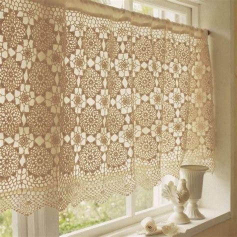 ideas  cortinas crochet  pinterest crochet curtains filet crochet  crocheting