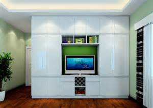 creative wardrobe and tv cabinet combo
