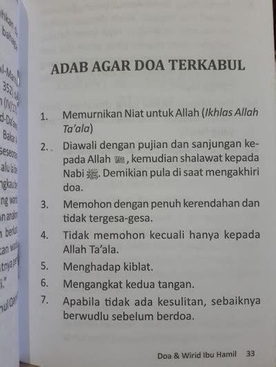 Tuntunan Praktis Dan Padat Bagi Ibu Dari A Sai Z Karmedia buku saku doa dan wirid ibu toko muslim title