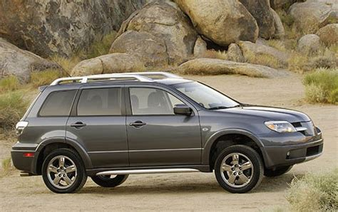 outlander mitsubishi 2006 2006 mitsubishi outlander information and photos
