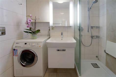 waschmaschine im bad badezimmer idee waschmaschine