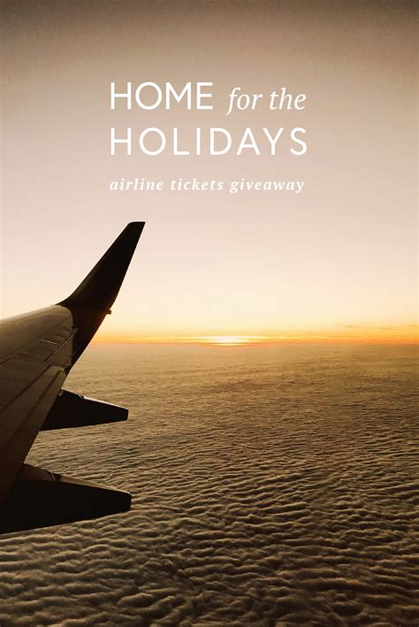 Southwest Airlines Ticket Giveaway - day 4 home for the holidays airline tickets giveaway in honor of design