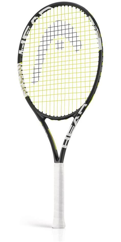 head light tennis racket head speed 25 inch junior graphite composite tennis racket