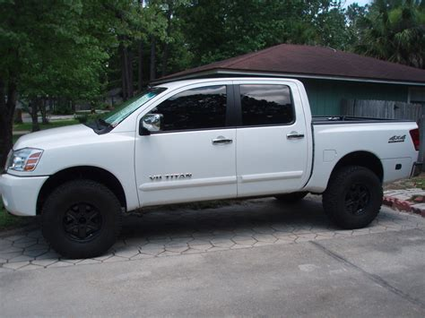 nissan white truck nissan titan white with black rims find the classic rims