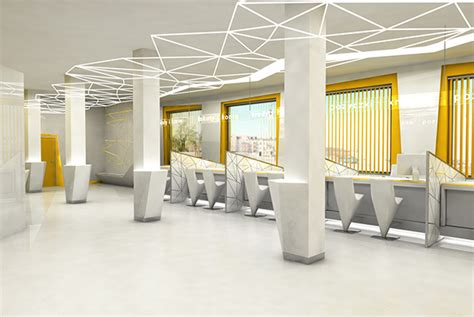 Bank Interior Design by