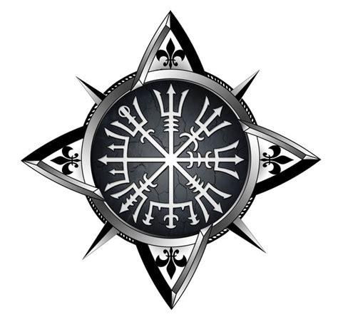 vegvisir compass tattoo by akoyma on deviantart
