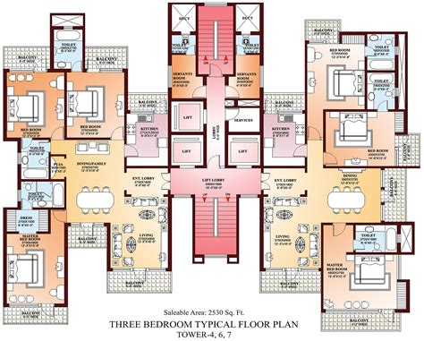Apartment Plan by Amazing Of Finest Floor Plans Apartments Penthouses Villa