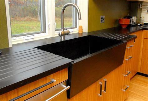 beautifully machined black diamond richlite countertop