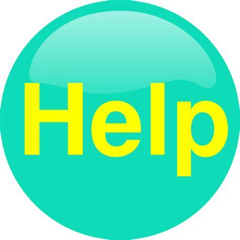 help clipart button clip at clker vector clip