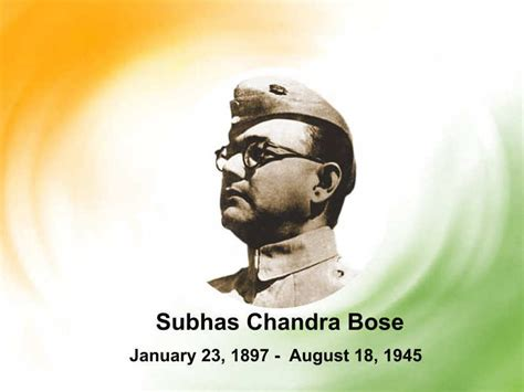 netaji biography in english subhas chandra bose indian nationalist military leader