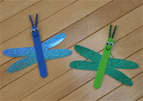Dragonfly Paper Craft - 50 bug crafts for cool kiddy stuff