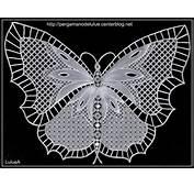 Pergamano Papillon De Dentelle