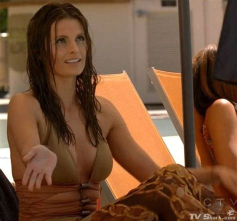 9 Sexiest Tv And Vires by Kate Beckett Stana Katic In A Swimsuit In Castle Season