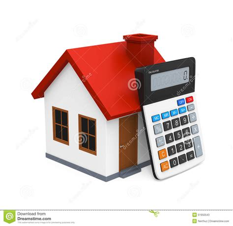 buying house fees calculator calculator and house icon stock illustration image 51950543