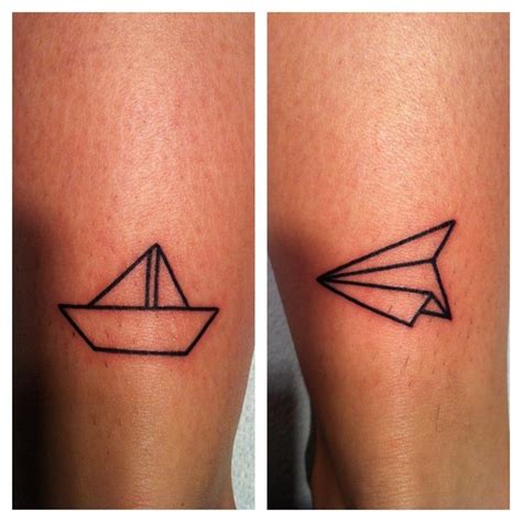 tattoo paper plane meaning paper plane tattoo tattoo piercingz pinterest