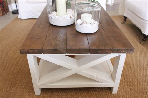Coastal Coffee Table A New Rustic Coastal Coffee Table Starfish Cottage