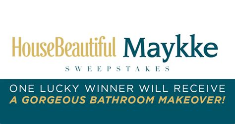 House Giveaway 2017 - house beautiful maykke sweepstakes 2017 maykke housebeautiful com
