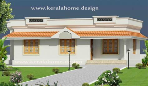 small kerala style one floor house kerala home design