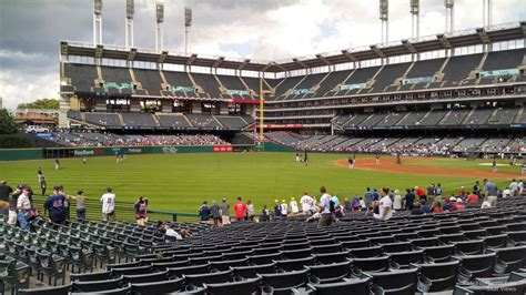 section 117 progressive field progressive field section 176 rateyourseats com