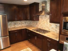 traditional kitchen solarius slab and tumbled travertine pictures of beige tile backsplash 4x4 beige tumbled