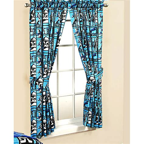 star wars blackout curtains star wars drapes set of 2 walmart com