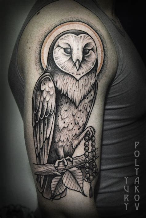 white owl tattoo snowy owl www imgkid the image kid has it