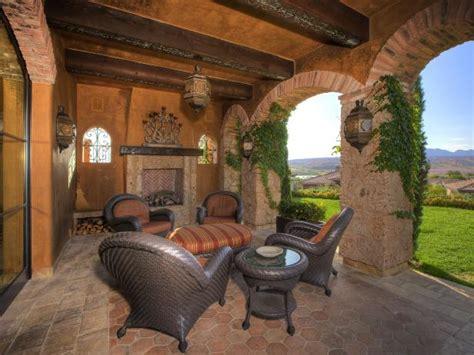 italian style backyard photo page hgtv