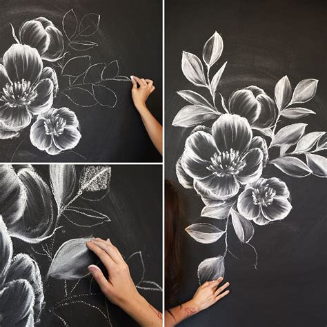 How To Create A Gorgeous Chalk Mural Like An Instagram Pro