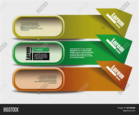 text box design frame vector colorful abstract line modern vector photo bigstock