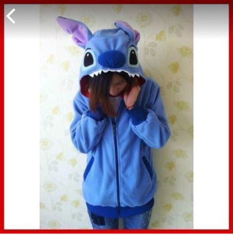 Sweater Rajut Lilo Stitch sweater blue black white purple stitch lilo and