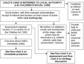 4 1 flowchart 1 action taken when a child is referred to