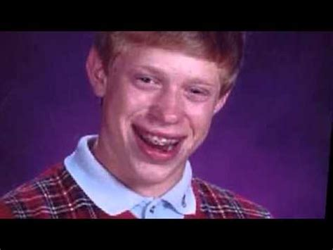 Yearbook Kid Meme - whatever happened to bad luck brian man whose yearbook