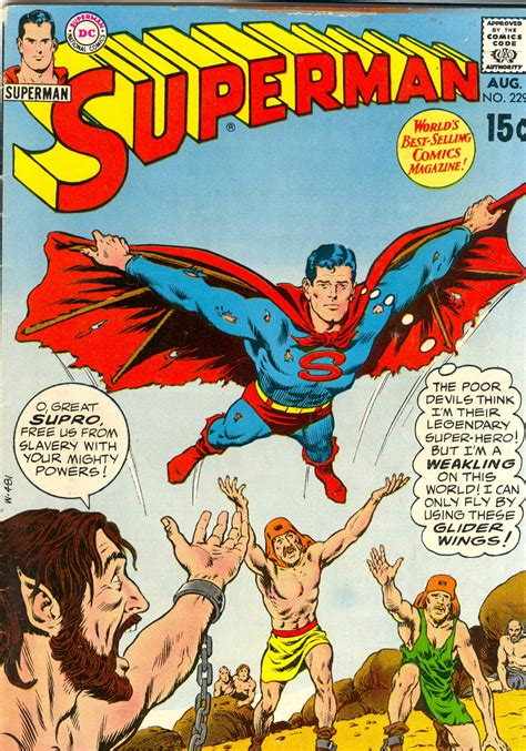 comic book picture comic cover superman 229 comic book daily
