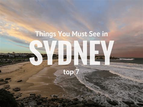 7 Doctors You Must Visit by 7 Places You Must See In And Around Sydney