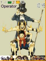 mobile themes one piece one piece asl mobile themes for nokia asha 203