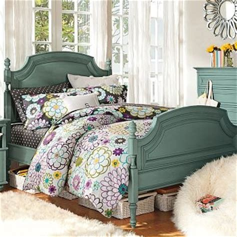 coraline bedroom pb teen coraline bed charlotte blue design ideas for