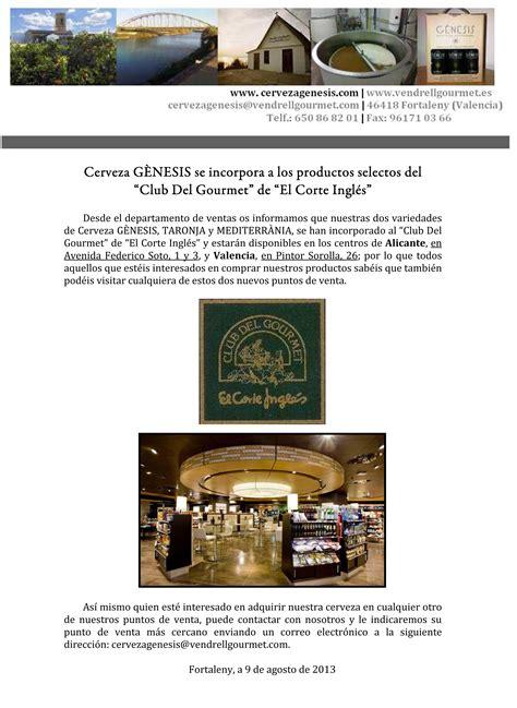 el corte ingl 233 s avenida de francia qu 233 comprar en noticias