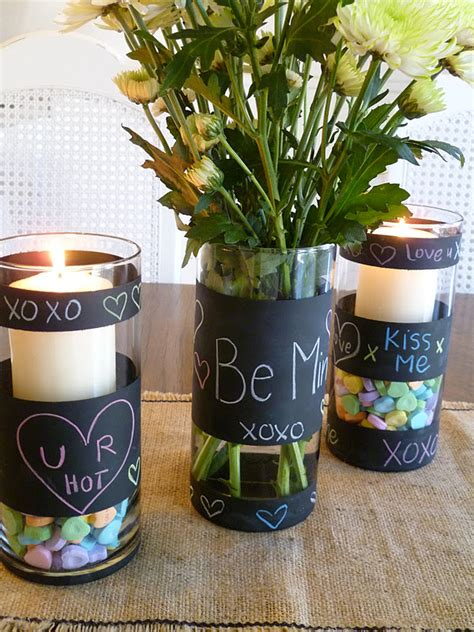 chalkboard paint vases 26 diy vases that every nook of your house will thank you for