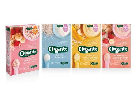 organix food organix baby food graphic design package design